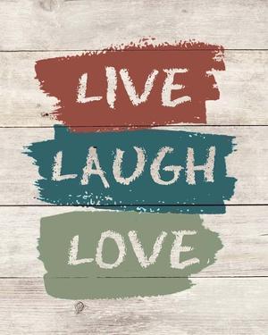 live Laugh Love-Wood by Color Me Happy