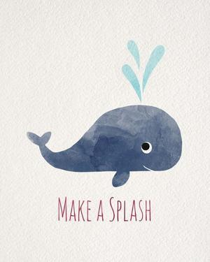 Make a Splash Whale White by Color Me Happy