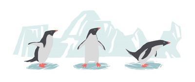 Minimalist Penguin Trio, Boys