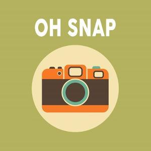OH SNAP Camera Green by Color Me Happy