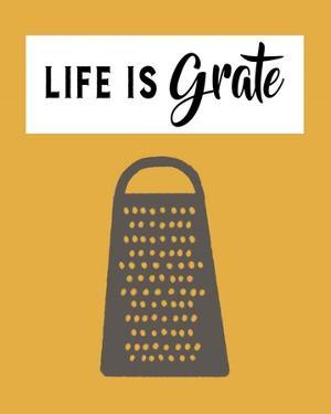 Retro Kitchen I - Life Is Grate by Color Me Happy