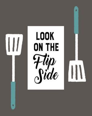 Retro Kitchen II - Look On The Flip Side by Color Me Happy