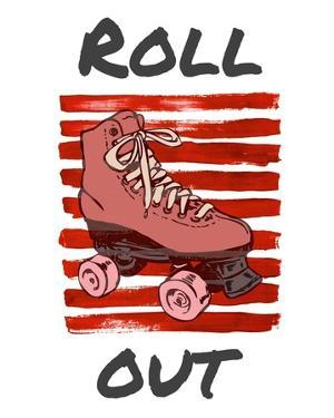 Roller Derby Roll Out by Color Me Happy