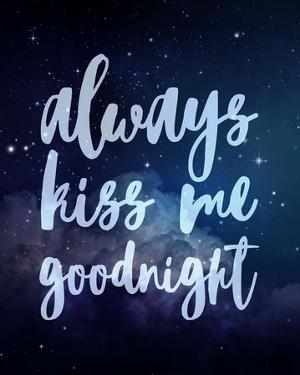 Stellar - Kiss Me Goodnight by Color Me Happy