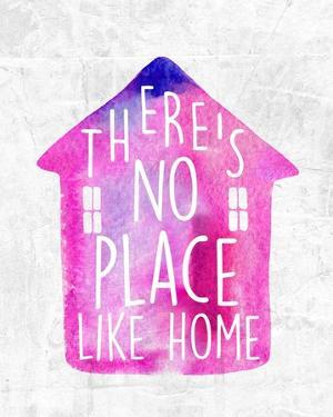 There's No Place Like Home-Watercolor by Color Me Happy