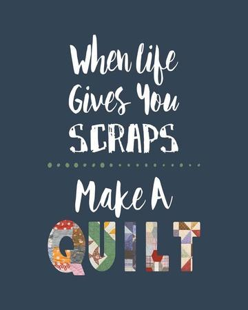 When Life Gives You Scraps - Blue