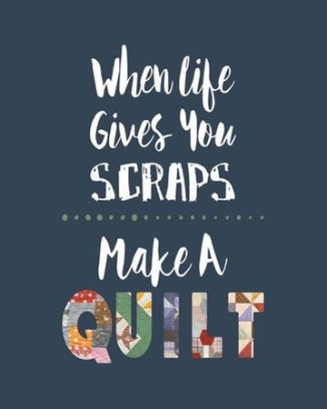 When Life Gives You Scraps - Blue by Color Me Happy