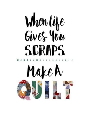 When Life Gives You Scraps - White by Color Me Happy