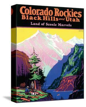 Colorado Rockies, Black Hills and Utah