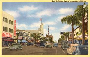 Colorado Street, Pasadena, California