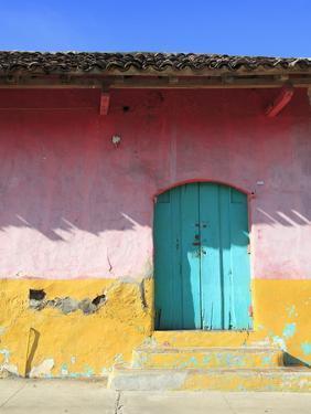 Colorful Colonial Architecture, Granada, Nicaragua, Central America