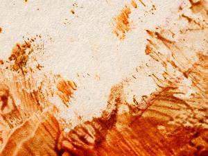 Colorful Paint on Pale Canvas
