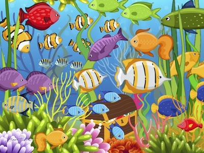 https://imgc.allpostersimages.com/img/posters/colorful-sea-life_u-L-Q1CA5U10.jpg?artPerspective=n