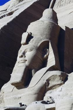 Colossal Statue of Ramesses II on South Side of Facade of Great Temple of Ramses II, Abu Simbel