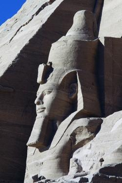 Colossal Statue of Ramesses II, South Side of Facade of Great Temple of Ramses II, Abu Simbel