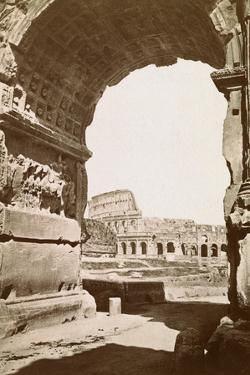 Colosseum Seen through the Arch of Titus