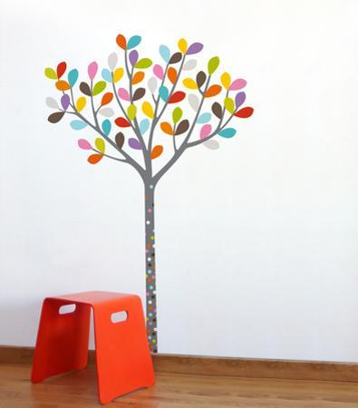 Colours in the Woods Wall Decal