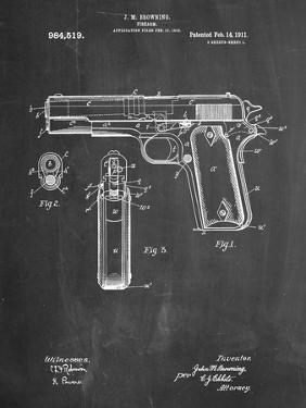 Colt 45 Patent 1911, Firearm Patent