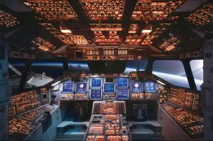 Columbia Space Shuttle Cockpit