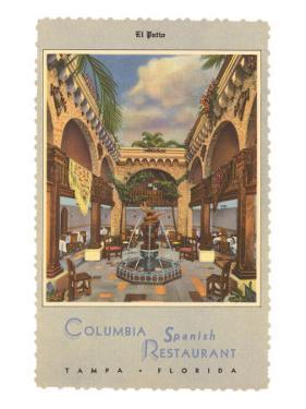 Columbia Spanish Restaurant, Tampa, Florida