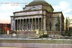 Columbia University Library, New York, USA, C1900s
