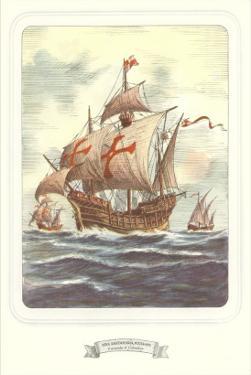 Columbus Caravels, Nina, Pinta, Santa Maria