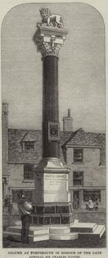 Column at Portsmouth in Honour of the Late Admiral Sir Charles Napier