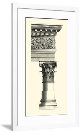 Column & Cornice II--Framed Art Print