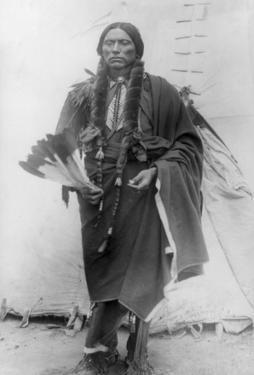 Comanche Chief Quanah Parker Photograph