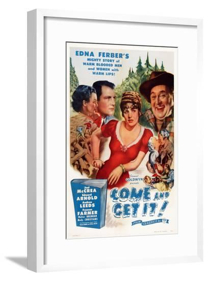 Come and Get It--Framed Giclee Print