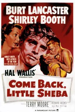 Come Back, Little Sheba, Burt Lancaster, Shirley Booth, 1952