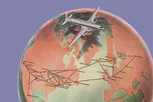 Commercial Airline Routes