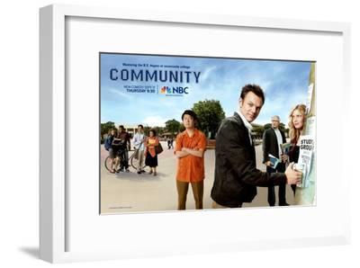 Community--Framed Masterprint