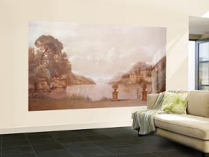 Como Large Huge Mural Art Print Poster