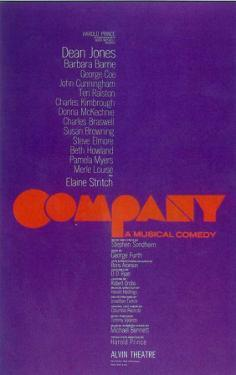 Company - Broadway Poster , 1970
