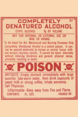 Completely Denatured Alcohol