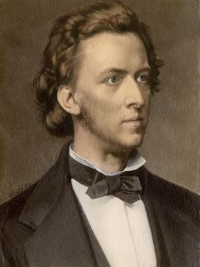 Composer and Pianist Frederic Chopin