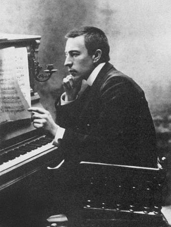 Composer Sergei Rachmaninov (1873-194), 1900s