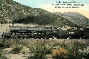 Compound Train Engine
