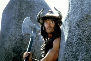 CONAN THE BARBARIAN, 1982 directed by JOHN MILIUS (photo)