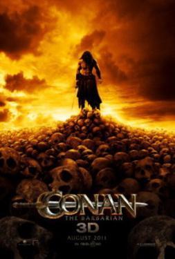 Conan The Barbarian (Jason Momoa, Ron Perlman, Rachel Nichols) Movie Poster