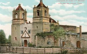 Concepcion de Acuna Mission, San Antonio, Texas