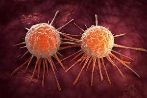 Conceptual Image of Cancer Virus
