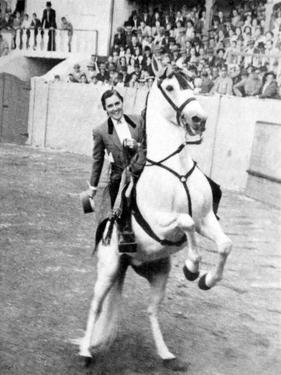 Conchita Cintron (1922-2009) Aka La Diosa Rubia, Peruvian Matador, Here in Madrid, 1962