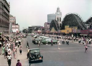 Coney Island, Brooklyn, New York, c.1951