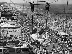 Coney Island View, New York, New York, c.1957