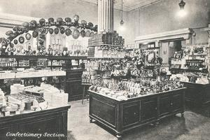 Confectionery Section in Selfridges Department Store