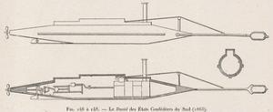 Confederate David Submarine