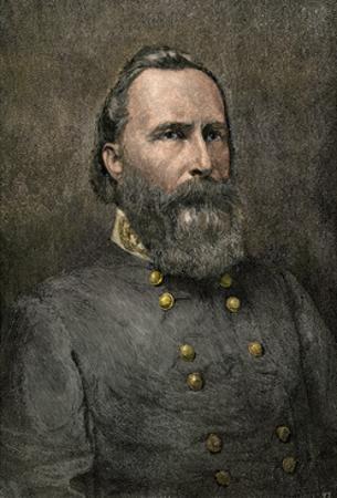 Confederate General James Longstreet