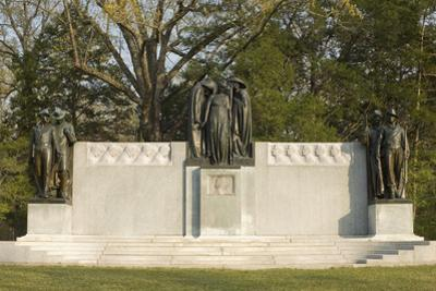 Confederate Memorial, Shiloh National Military Park, Tennessee